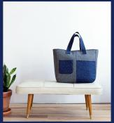 Fika Tote sewing pattern from Noodlehead 2