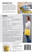 Redwood Tote sewing pattern from Noodlehead 1