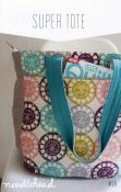 Super Tote sewing pattern from Noodlehead