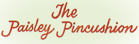 The Paisley Pincushion Logo