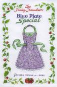 Blue Plate Special Apron sewing pattern from Paisley Pincushion