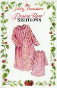 The Prairie Rose Night Gown Ladies sewing pattern from Paisley Pincushion