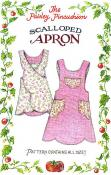 Scalloped Apron sewing pattern from Paisley Pincushion