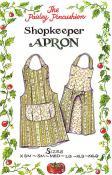 Shopkeeper Apron sewing pattern from Paisley Pincushion