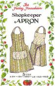 Shopkeeper Apron sewing pattern from Paisley Pincushion