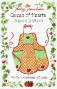 INVENTORY REDUCTION...Queen of Hearts Apron sewing pattern from Paisley Pincushion