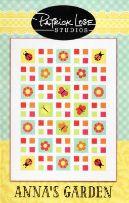 Anna's Garden quilt sewing pattern from Patrick Lose Studios