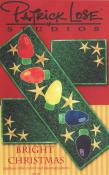 CLOSEOUT...Bright Christmas quilt pattern from Patrick Lose Studios