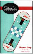 CLOSEOUT...Snow Day table runner sewing pattern from Patrick Lose Studios