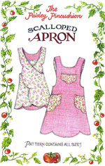 The Paisley Pincushion sewing patterns image