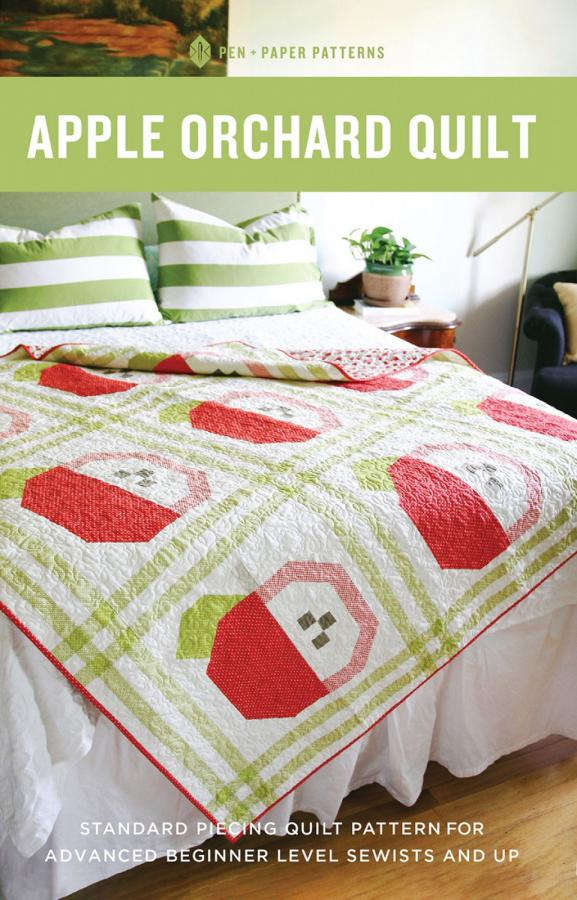 Apple Orchard Quilt sewing pattern from Pen+Paper Patterns