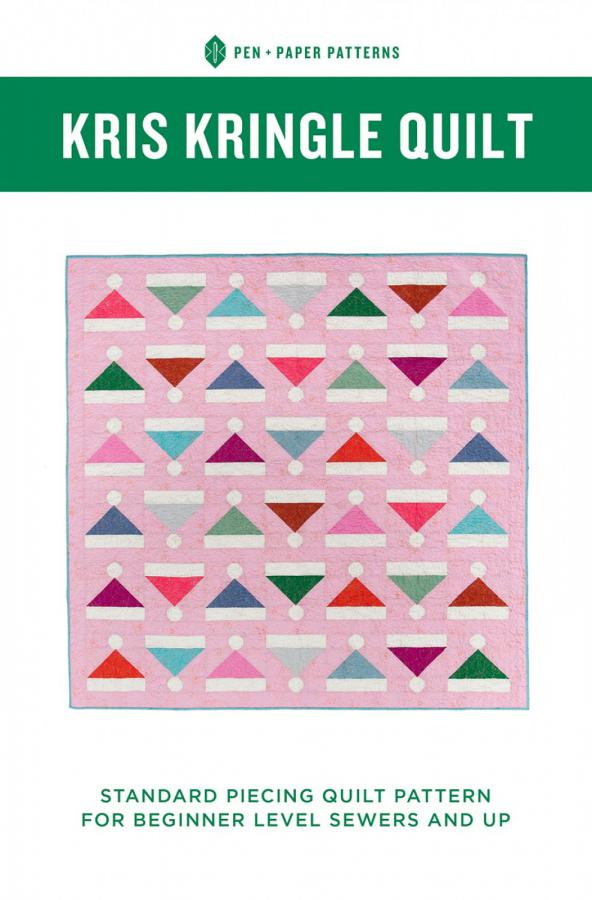 Kris Kringle Quilt sewing pattern from Pen+Paper Patterns