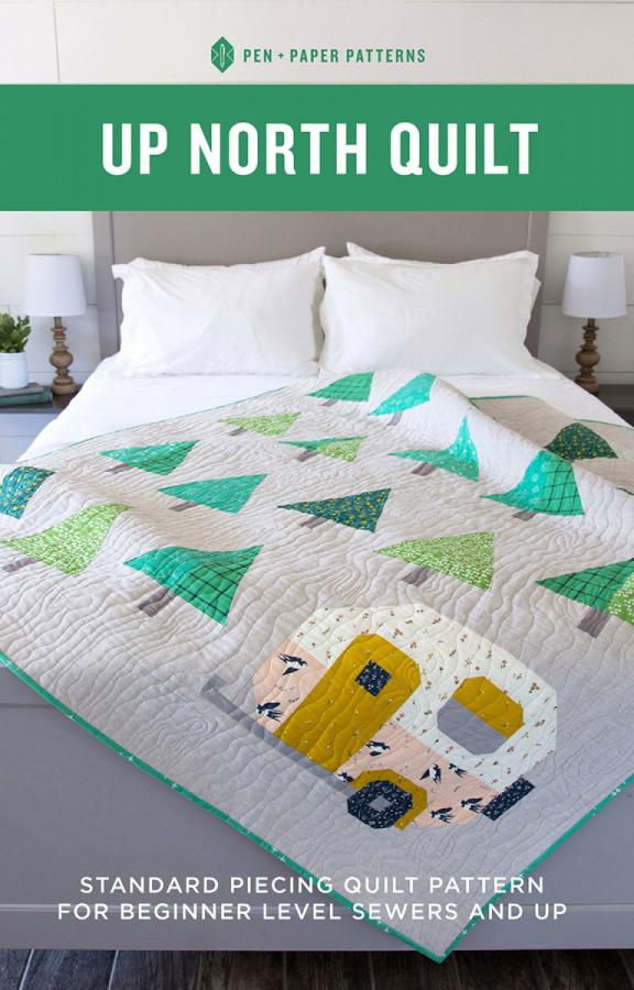 Up North Quilt sewing pattern from Pen+Paper Patterns
