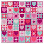 Be Mine Quilt sewing pattern from Pen+Paper Patterns 2