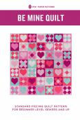 Be Mine Quilt sewing pattern from Pen+Paper Patterns