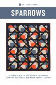 Sparrows quilt sewing pattern from Pen+Paper Patterns