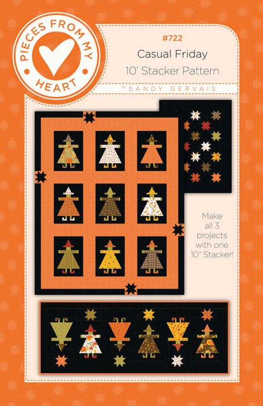 Casual Friday Quilt Sewing Pattern from Pieces From My Heart