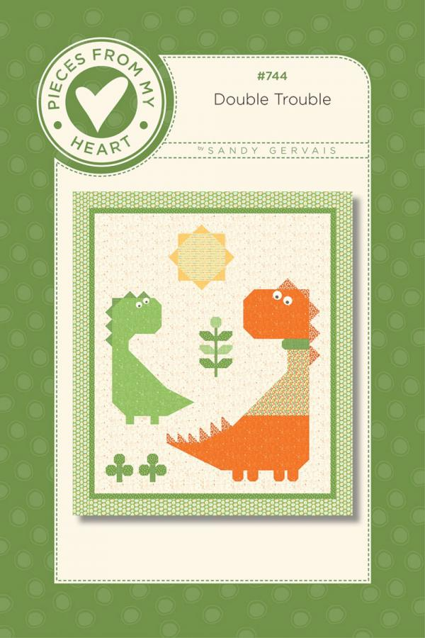 Double Trouble Quilt Sewing Pattern from Pieces From My Heart