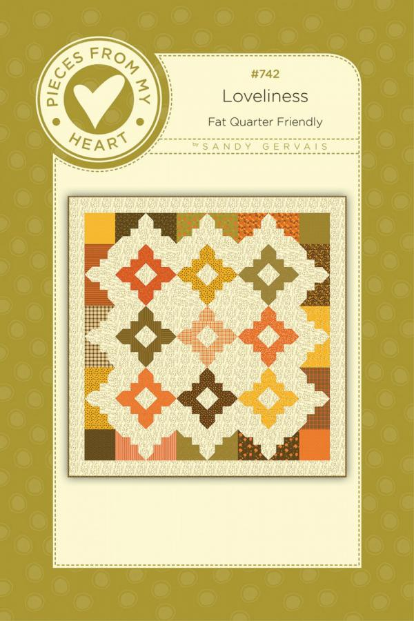 Loveliness Quilt Sewing Pattern from Pieces From My Heart