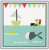 CLOSEOUT...Lake Fun Quilt Sewing Pattern from Pieces From My Heart 2
