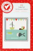 Lake Fun Quilt Sewing Pattern from Pieces From My Heart