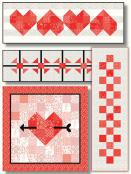On Top Of It Quilt Sewing Pattern from Pieces From My Heart 2