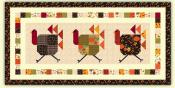 Turkey Trot Table Runner Sewing Pattern from Pieces From My Heart 2
