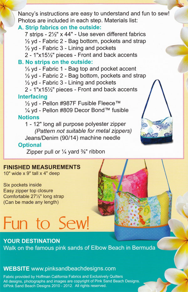 Bermuda Bag sewing pattern from Pink Sand Beach Designs-114