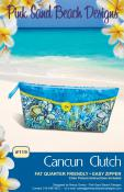 Cancun Clutch sewing pattern from Pink Sand Beach Designs