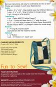 Sonoma Swing Bag sewing pattern from Pink Sand Beach Designs 2
