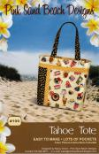 Tahoe Tote sewing pattern from Pink Sand Beach Designs