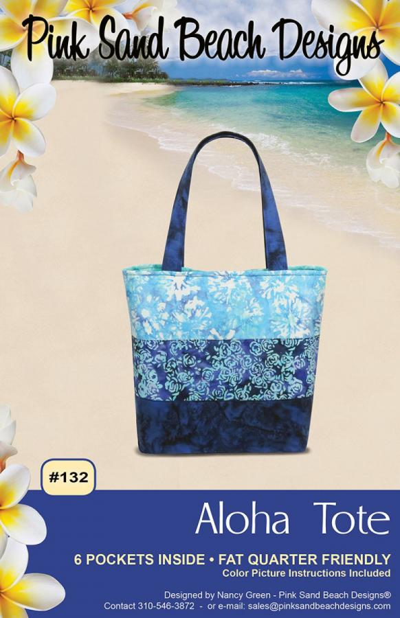 Aloha Tote sewing pattern from Pink Sand Beach Designs