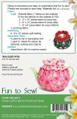 Afternoon Tea Party sewing pattern from Pink Sand Beach Designs 1