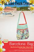 Barcelona Bag sewing pattern from Pink Sand Beach Designs
