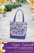 Capri Carryall sewing pattern from Pink Sand Beach Designs