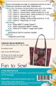 Fiji Tote sewing pattern from Pink Sand Beach Designs 1