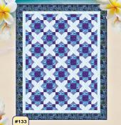 Paradise Crossroads quilt sewing pattern from Pink Sand Beach Designs 2