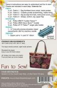 Riviera Handbag sewing pattern from Pink Sand Beach Designs 1