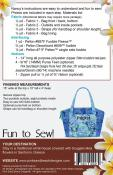 Santorini Handbag sewing pattern from Pink Sand Beach Designs 1