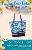 St. Tropez Tote sewing pattern from Pink Sand Beach Designs