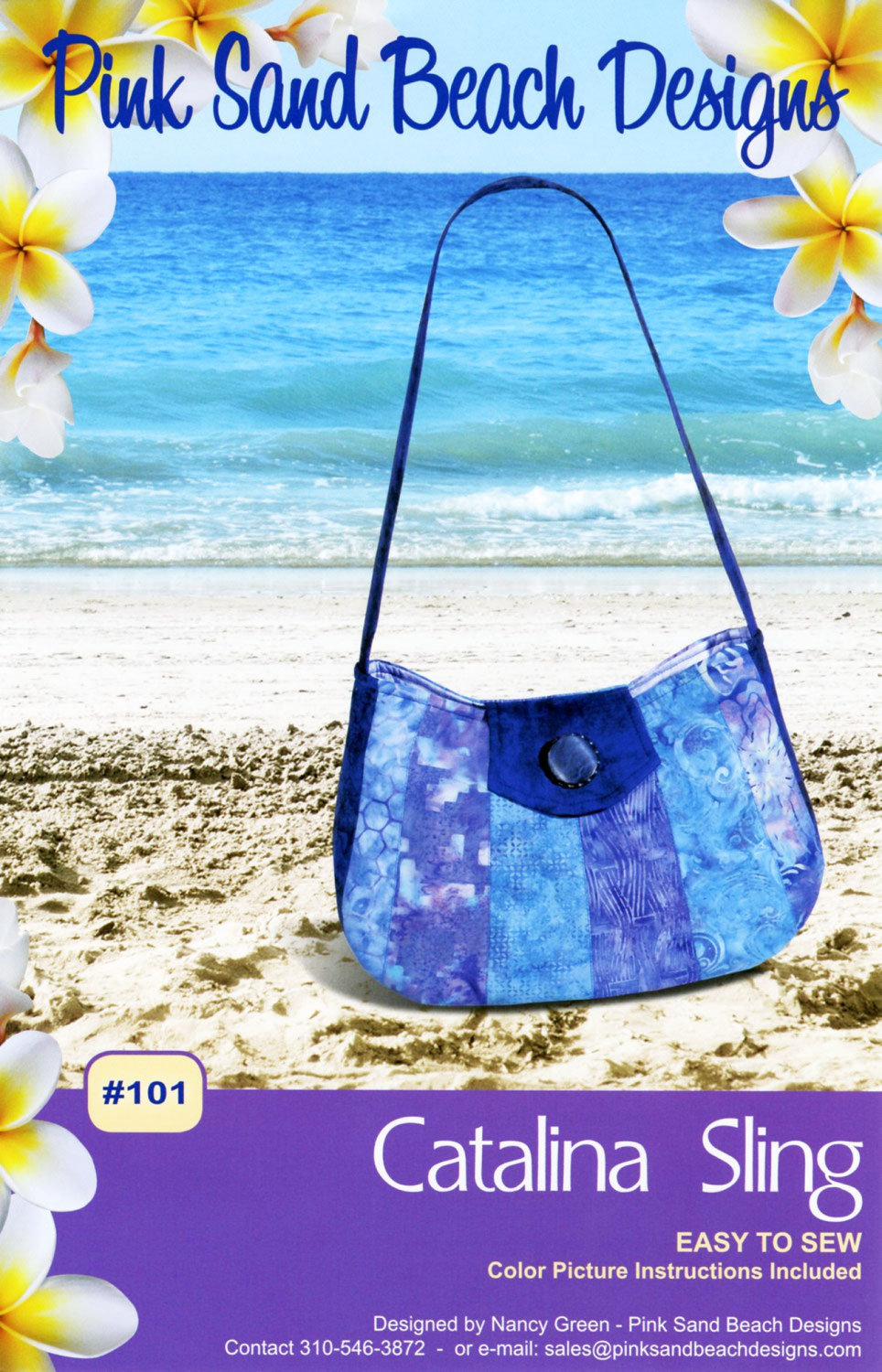 Catalina Sling Sewing Pattern From Pink Sand Beach Designs