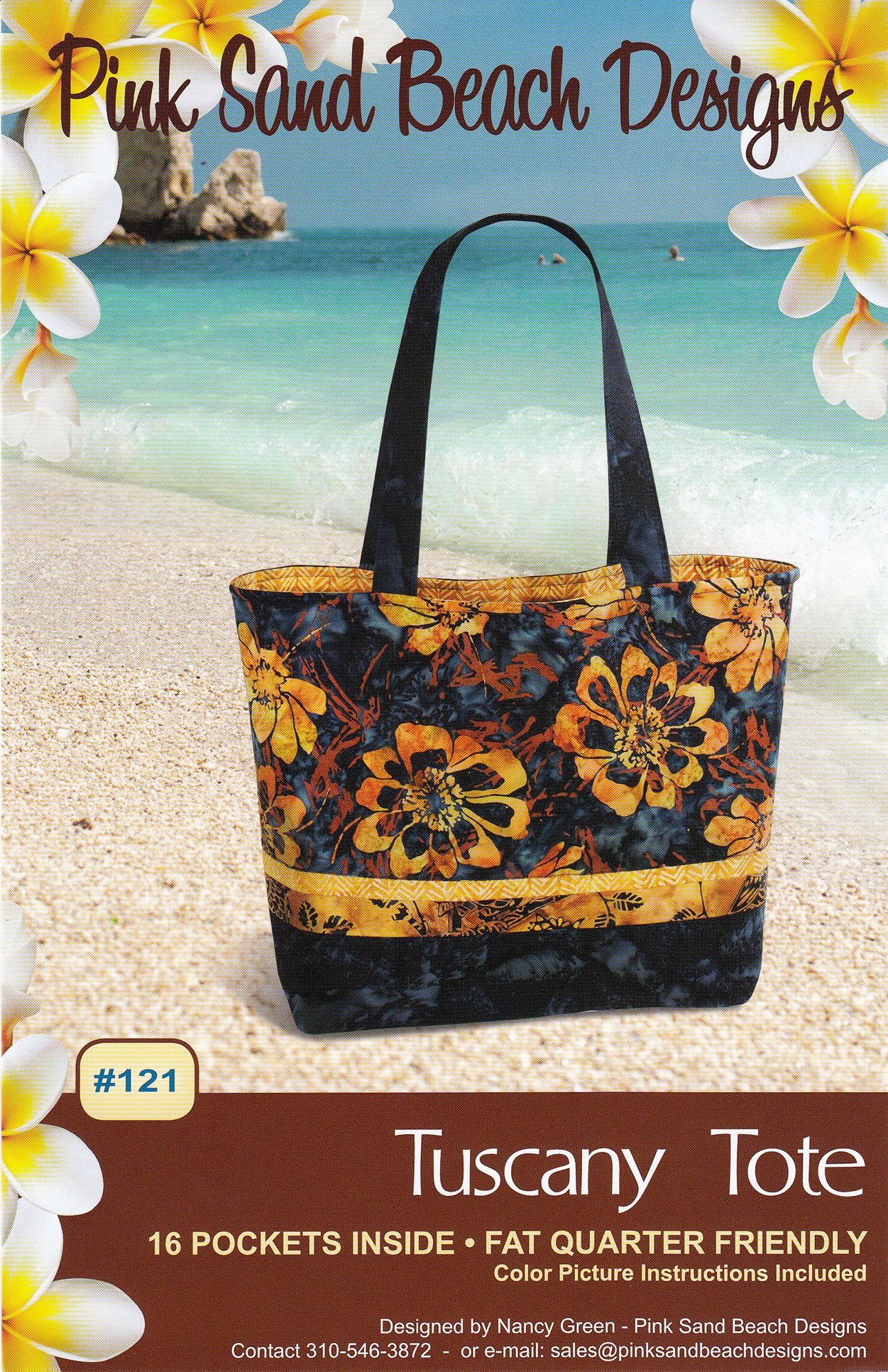 Tuscany Tote Sewing Pattern From Pink Sand Beach Designs