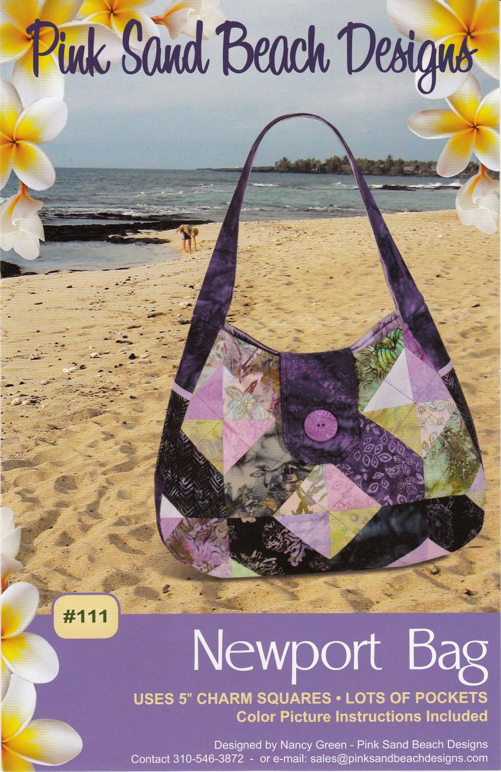 Newport sewing pattern from Pink Sand Beach Designs