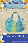 Manhattan Handbag sewing pattern from Pink Sand Beach Designs