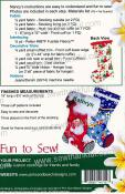 Sugar Plum Stocking sewing pattern from Pink Sand Beach Designs 2