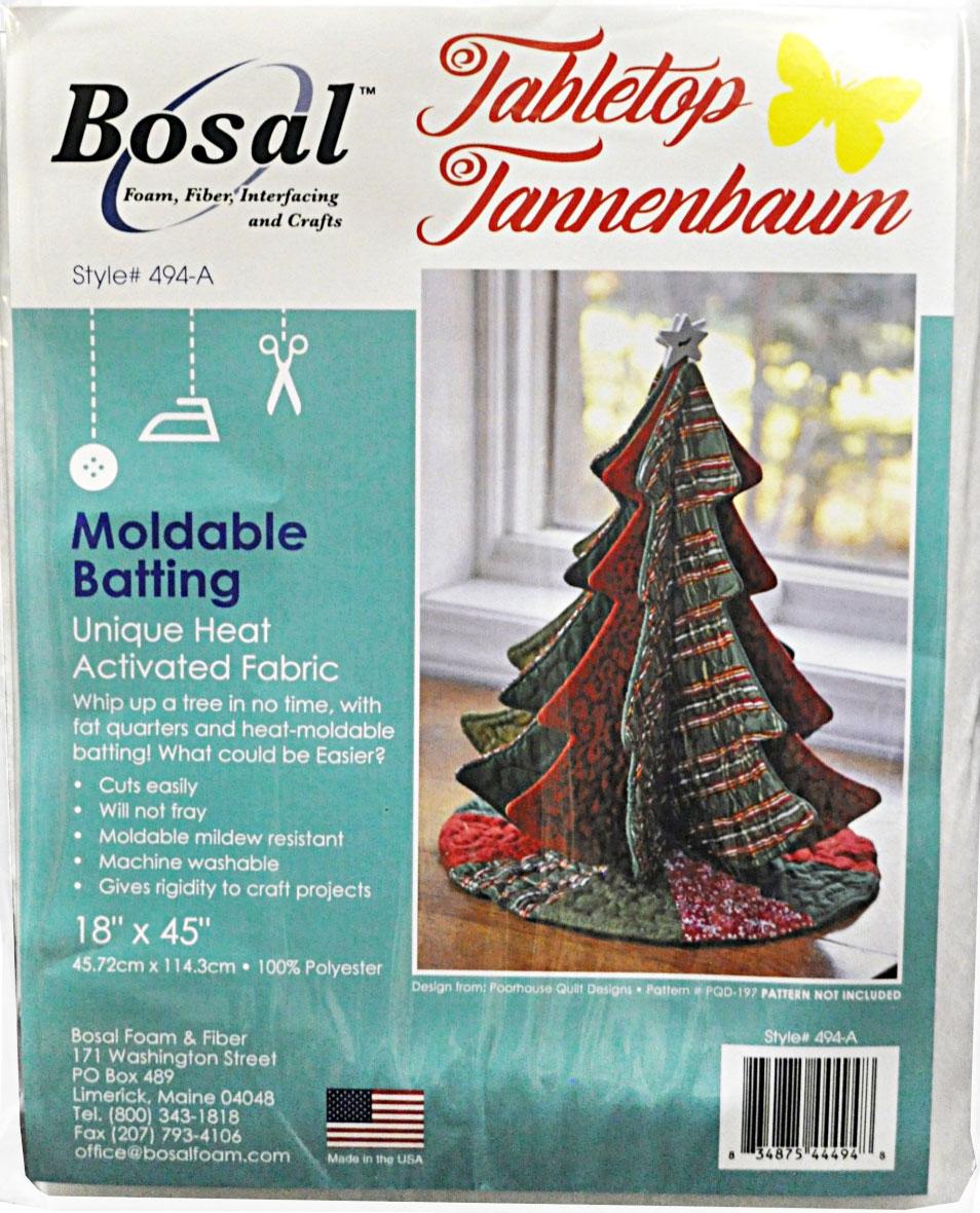 Bosal-Tabletop-Tannenbaums-batting-moldable-batting-front