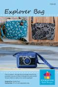 Explorer Bag sewing pattern by Poorhouse Quilt Designs