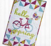 INVENTORY REDUCTION...Hello Spring sewing pattern by Poorhouse Quilt Designs 2
