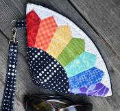 Petal Pouch sewing pattern by Poorhouse Quilt Designs 2