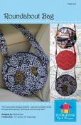Roundabout Bag sewing pattern by Poorhouse Quilt Designs